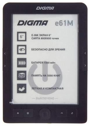 Электронная книга Digma E61M Black