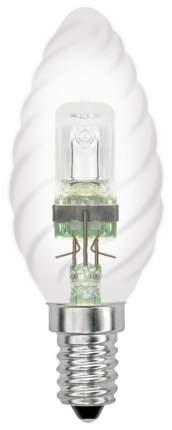 Лампа галогенная (04112) Е14 28W свеча витая прозрачная HCL-28/CL/E14 Candle Twisted