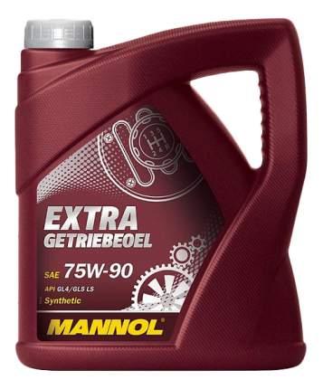 Трансмиссионное масло MANNOL 75w90 4л 1353