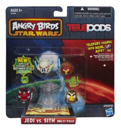 Игровой набор Telepods Angry Birds Star Wars Jedi vs Sith