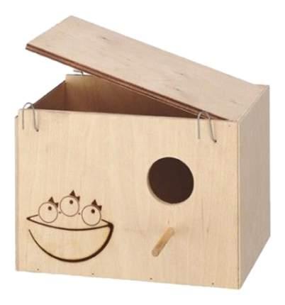 Ferplast домик-гнездо Nido Large для птиц деревянный