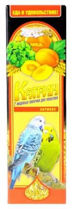 Катрин Палочки Абрикос для волнистых попугаев, 2 шт
