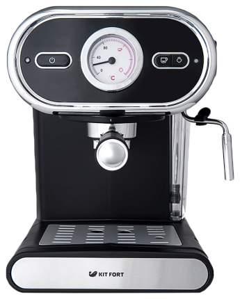 Рожковая кофеварка Kitfort КТ-702 Black