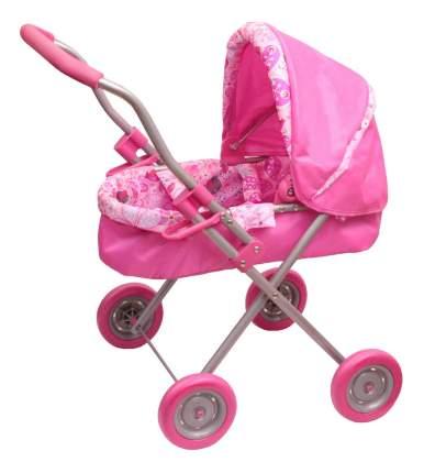 Коляска для куклы Gulliver Розовая