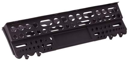 Полка настенная Blocker Пластик Репаблик Reef 62,5 см, черная