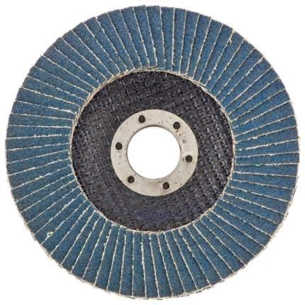 Круг лепестковый шлифовальный для шлифовальных машин RUSSIA 74022 16Н (Р80), 125 х 22,2 мм