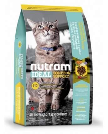 Сухой корм для кошек Nutram Weight Control, диетический, домашняя птица, 1,8кг