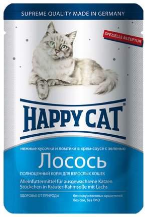 Влажный корм для кошек Happy Cat, лосось, 100г