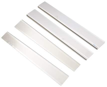 alu-frost Накладки на внутренние пороги для skoda roomster (2006-)