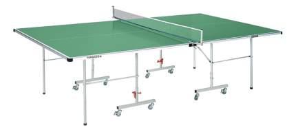 Теннисный стол DFC Tornado зеленый, с сеткой