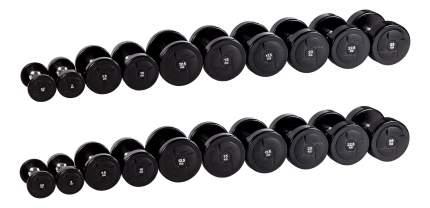 Гантельный ряд Profifit Power от 2,5 до 25 кг
