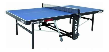 Теннисный стол Stiga Competition Compact синий, с сеткой