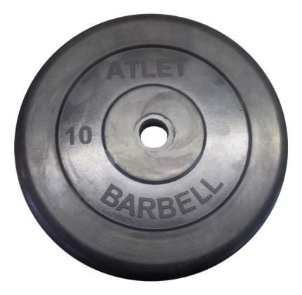 Диск для штанги MB Barbell Atlet 10 кг, 31 мм