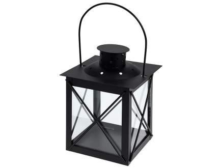 Koopman Подсвечник фонарь Стокгольм 11*8 см черный ADA000200