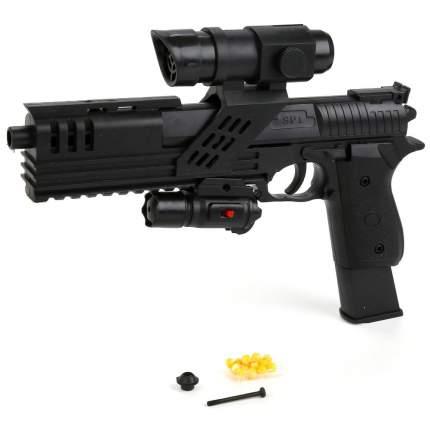 Пневматический пистолет air soft gun с лазерным прицелом Shantou Gepai 1B00067