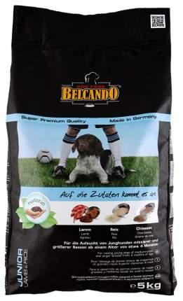 Сухой корм для щенков BELCANDO Junior Lamb & Rice, рис, ягненок, 5кг