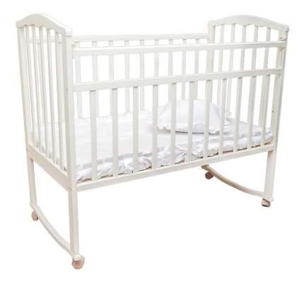 Кровать-качалка Агат Золушка-1 белая