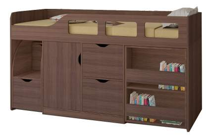 Кровать-чердак РВ мебель Астра 8 дуб шамони
