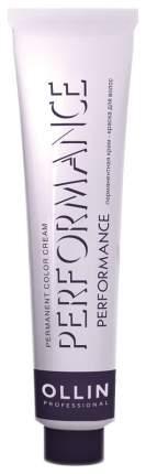 Краска для волос Ollin Professional Performance 7/1 Русый пепельный 60 мл