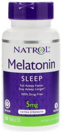 Добавка для сна Natrol Melatonin Time Release 100 табл. натуральный