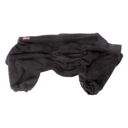 Комбинезон для собак OSSO Fashion размер L мужской, черный, длина спины 32 см