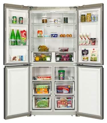 Холодильник Hiberg RFQ-490DX NFXQ Silver
