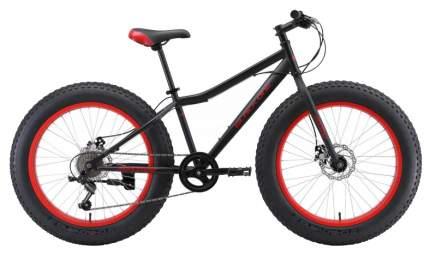 "Велосипед Black One Monster 24 D 2020 13"" black/red"