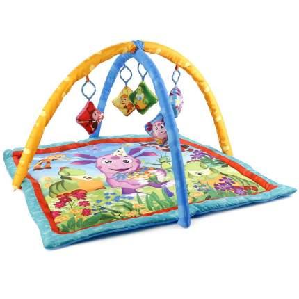 Коврик детский Умка лунтик, с мягкими игрушками на подвеске