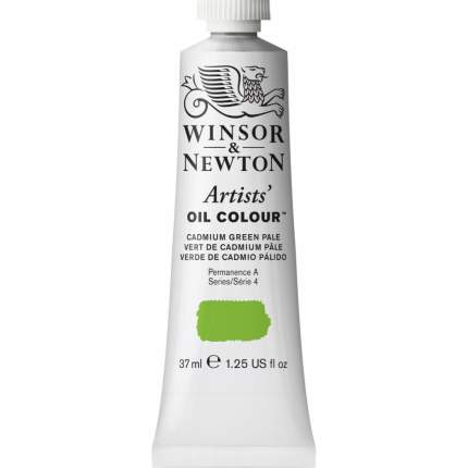 Масляная краска Winsor&Newton Artists бледно-зеленый кадмий 37 мл
