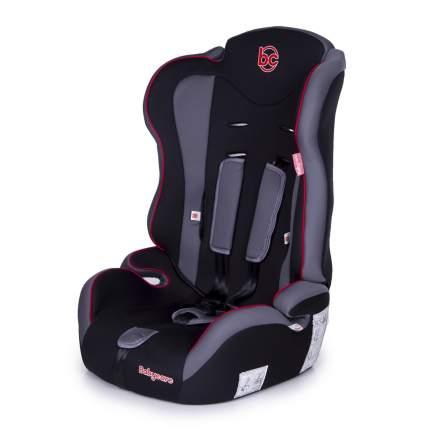 Автокресло Baby Care Upiter без вкладыша группа I/II/III, 9-36 кг, красно-черное