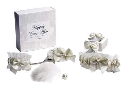 Эротический набор аксессуаров Bijoux Indiscrets Happily Ever After белый