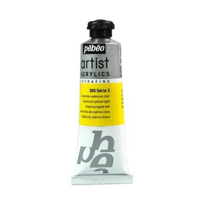 Акриловая краска Pebeo Artist Acrylics extra fine №3 ярко-желтый кадмий 37 мл