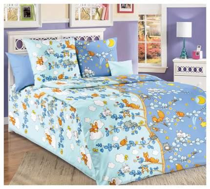 Комплект Детского постельного белья День и ночь 1,5 спальный, бязь