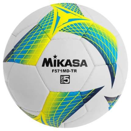 Футбольный мяч Mikasa F571MD-TR-B №5 white/yellow/blue