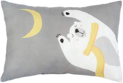 """Подушка """"Крошка Я"""" Мишка с луной, 30х47 см, 100% хлопок, синтепон Крошка Я"""