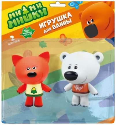 Набор из 2-х игрушек для купания «Белая Тучка и Лисичка», 10 см, в блистере Тошка
