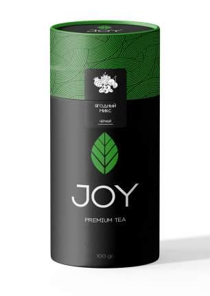 Премиум чай черный Joy ягодный микс 100 г