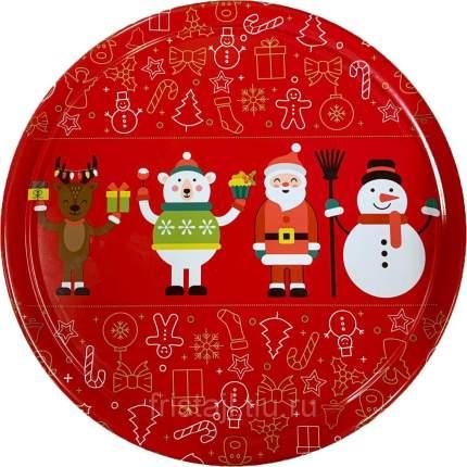 Печенье песочное Данесита датское новогоднее Christmas Red 454 г