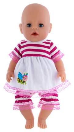 Одежда для пупса «Панталоны, туничка с кружевом», р. 38-43 см КуклаПупс