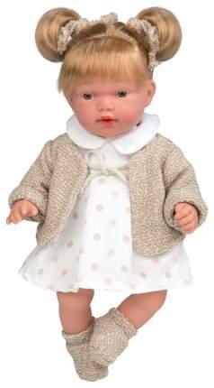 Кукла Arias Elegance в платьице в крупный горошек, 28 см, арт. Т16343