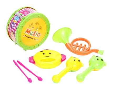 Набор музыкальных инструментов, 4 шт., BOX 17x15x9 см, арт. 6566Q-4