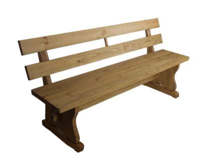 Садовая скамейка Волшебная сосна Bancmona массив сосны 1400 мм
