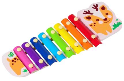 """Музыкальная игрушка """"Металлофон. Оленёнок"""", 8 тонов Sima-Land"""