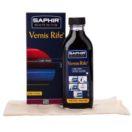 Полироль для лаковой кожи SAPHIR Vernis rife черная 100 мл