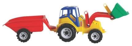 """Трактор """"Фермер"""" с ковшом и тележкой"""