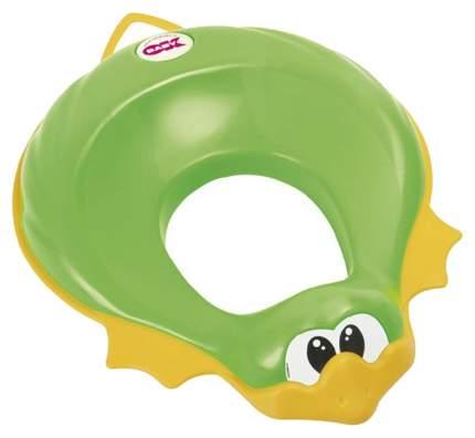 "Сидение на унитаз ""Ducka"", зеленое"