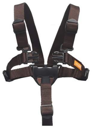 Leander ремни безопасности для стульчика коричневый