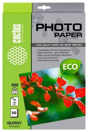 Фотобумага для принтера Cactus Cs-Ga620050E А6 белая 50 листов