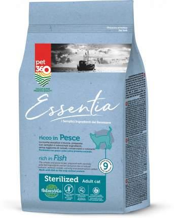 Сухой корм Essentia для стерилизованных кошек (1,5 кг, Рыба)