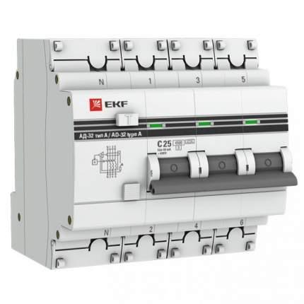 Дифавтоматы EKF DA32-16-100-4P-pro